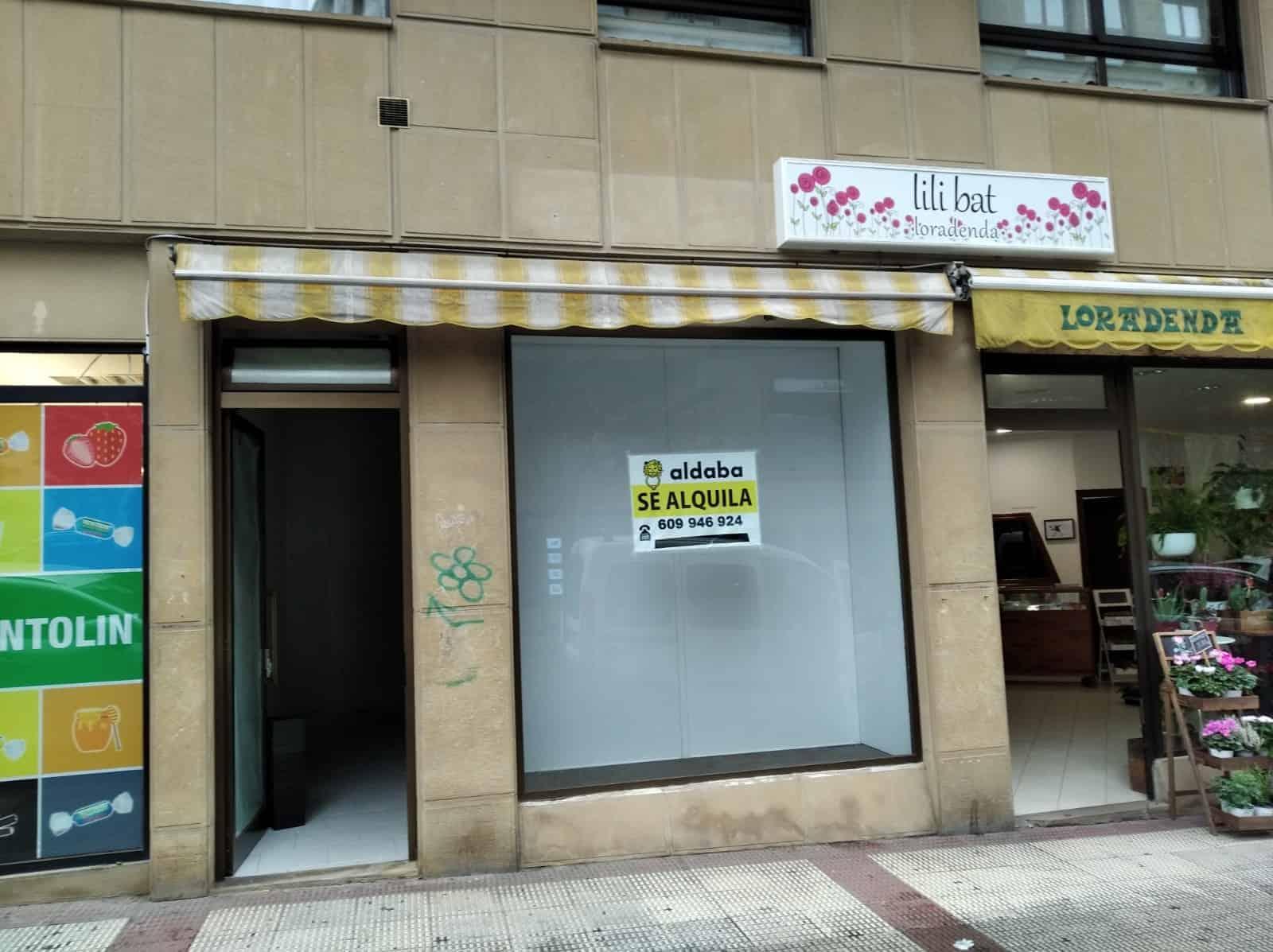 Local Comercial en alquiler en Hernani